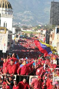 EL  PRESIDENTE CHAVEZ SUBIO EL 12,81 % DE SUS SEGUIDORES EN TACHIRA